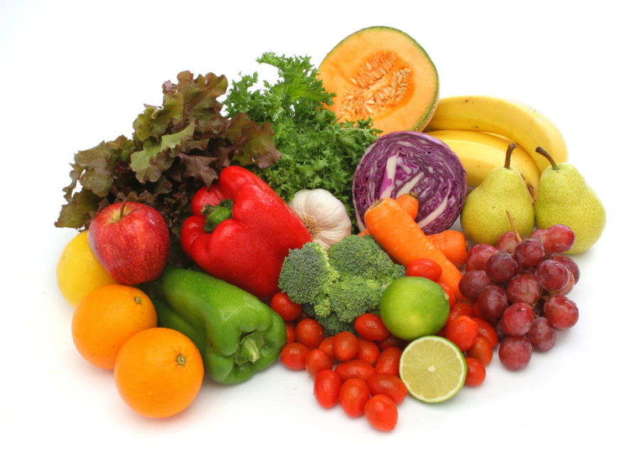 Good Nutrition - Organic Fresh Fruits and Vegetables