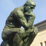 Thinking Man by Rodin