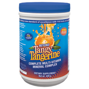 Beyond Tangy Tangerine Canister