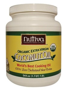 Nutiva Certified Organic Extra Virgin Coconut Oil